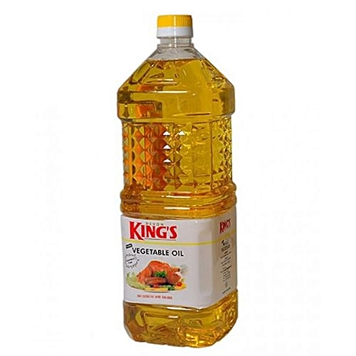 Kings 2 Litre Pure Vegetable Cooking Oil