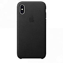 IPhone X Silicon Case - BLACK