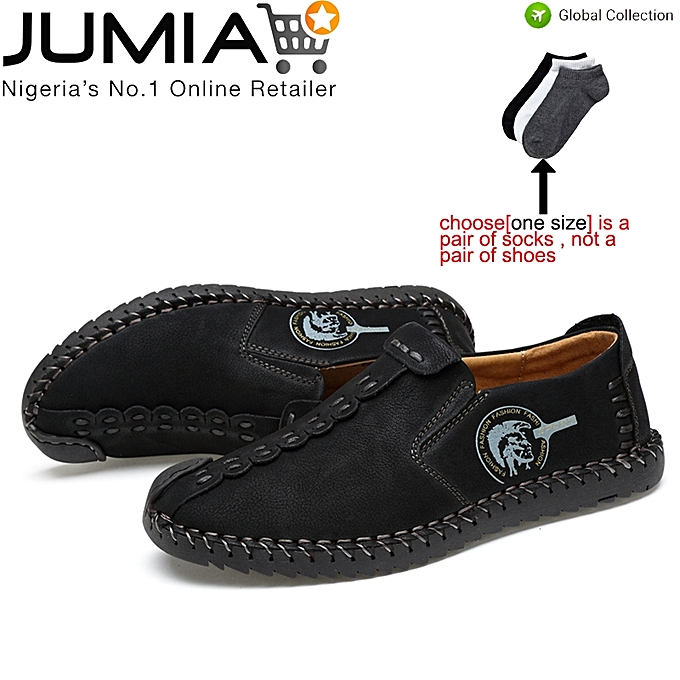 d7cc064b5fea2 Fashion Mens Chic Shoes Casual Suede Loafers Flats Sneaker-Black ...