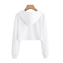 b09ea7d840a5db Eleganya Women Hoodie Appliques Winter Sleeve Pullover Printed Hoodie