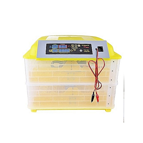 112 EGGS INCUBATOR 220V AC/12V DC, DRINKER ,FEEDER AND 6A BATTERY CHARGER