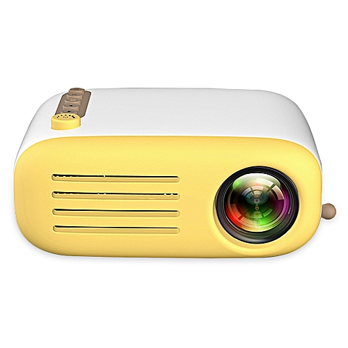 YG200 Portable LCD Projector Home Theater 500 - 600 Lumens Support 1080P - MULTI