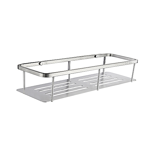SUS304 Stainless Steel Wall Mounted Shelf For Bathroom,bathroom Accessory Shelf, SBH185A
