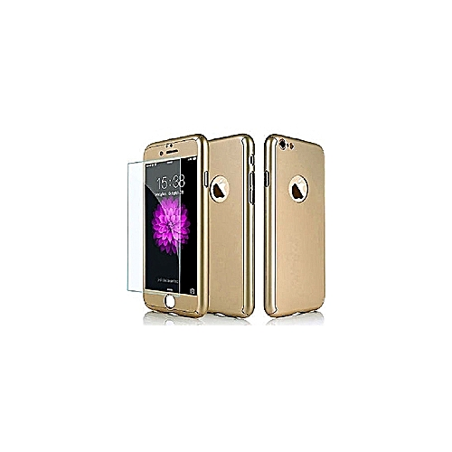 IPhone 6s Plus & 6 Plus 360 DEGREE Case - Gold