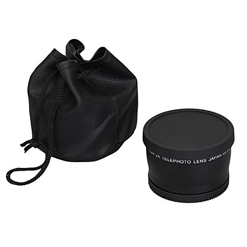TA 2.0x 52mm 58mm Telephoto Lens For Nikon D90 D80 D700 D3000 D3100 D3200 D5000 -black