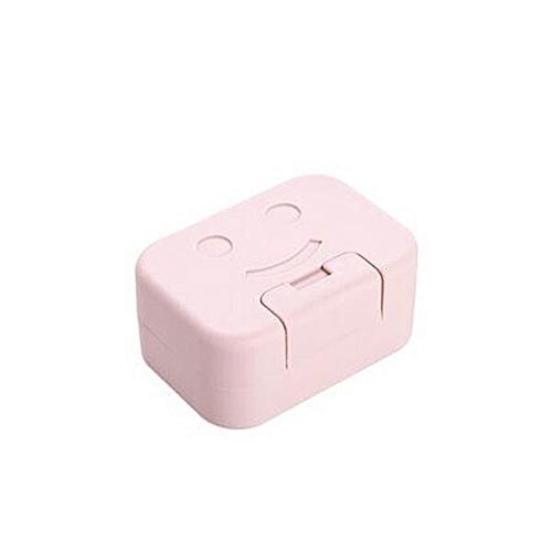 1pcs Portable Waterproof Soap Dish Bathroom Soap Holder