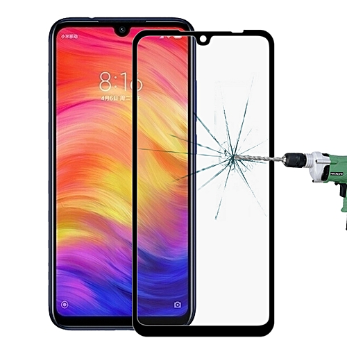 Full Screen Glass Screen Protector For Xiaomi Redmi Note 7