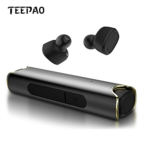 Earbuds,Noise-Canceling Bluetooth 4.2 Headphones IPX7 Waterproof Workout Headset With Built-In Mic For Smartphones BDZ