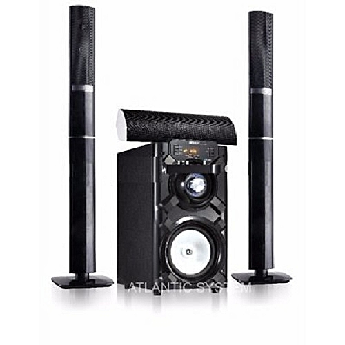 JP-C2 Powerful 3.1 Channel Bluetooth Home Theatre System - Black