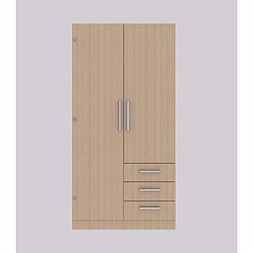 2 Doors + 3 Drawers 3 Feet Wardrobe (Delivery Within Lagos Only)
