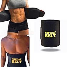e2525fd8e6 Sweat Belt Unisex Tummy Weight Loss Waist Slimming Belt- Men And Women Big  Belly Fat