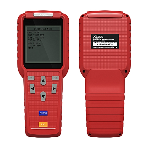 XTOOL X100 Pro OBD2 Auto Key Programmer/Mileage Adjustment Including EEPROM Code Reader With Free Update