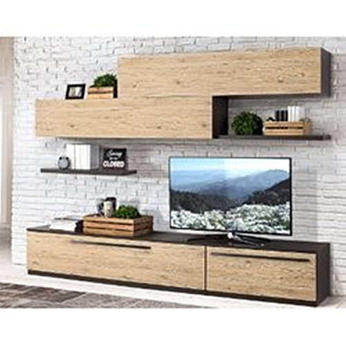 Royal Luxury 6 Feet Television Console Set (Delivery Within Lagos Only)
