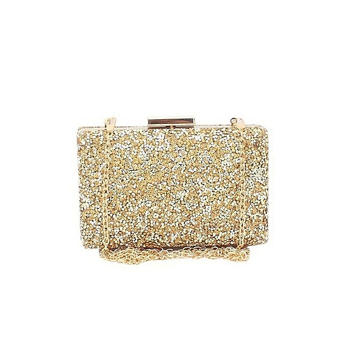 be875c5d37 Fashion Sequence Ladies Evening Clutch Purse-Gold | Jumia NG