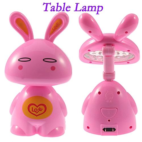 Foldable LED Table Lamp -pink