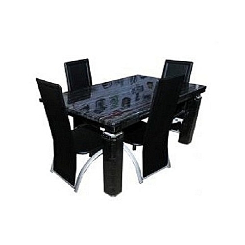Marble Dinning Table With 4 Chairs