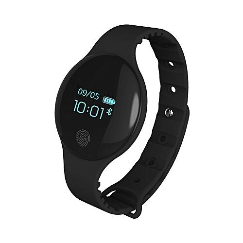 Men's Watch Bluetooth Smart Bracelet Sport Smartwatch-Black