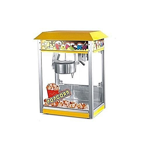 Industrial Popcorn Machine Yellow