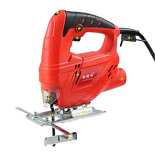 220V Jig Saw Electric Saw Woodworking Electric Tools Multifunction Chainsaw Hand Saws Wood Cuttinghine With Lase & 10 Saw Blader, EU Plug