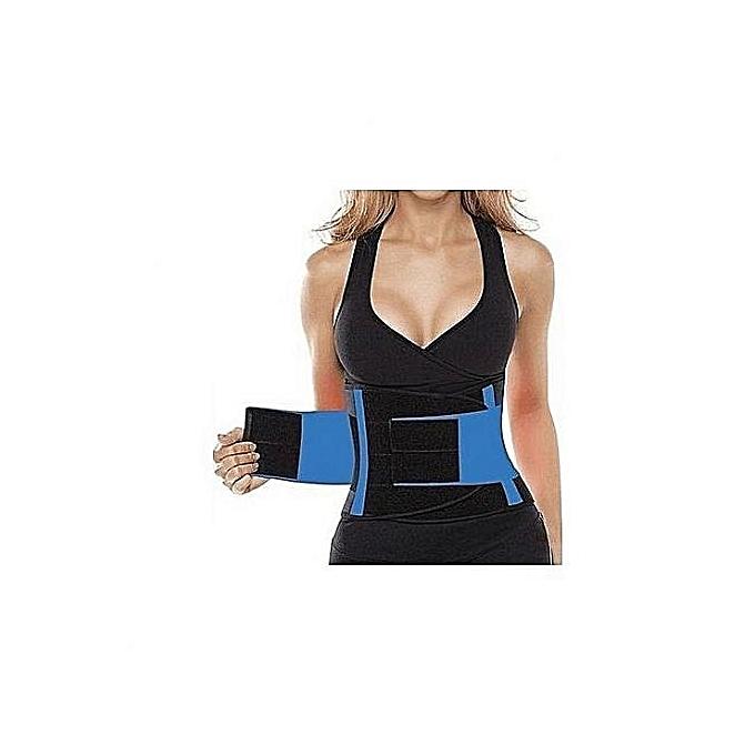 b9f8dbb222 ... Power Belt Fitness Body Shaper Adjustable Waist Support Breathable ...