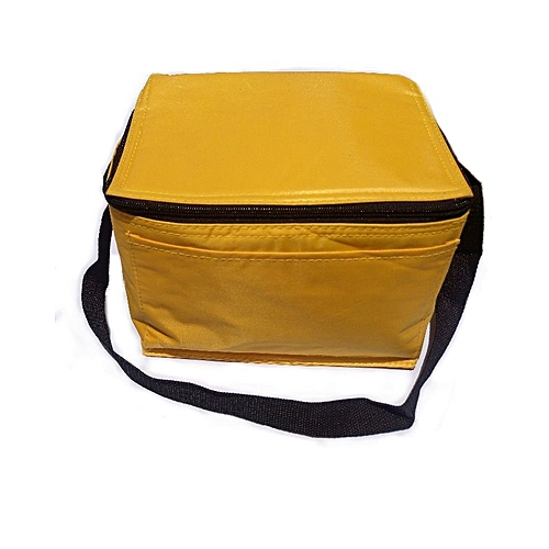 """9"""" Multipurpose Insulated Lunch Cool Or Hot Bag With Side Pocket"""