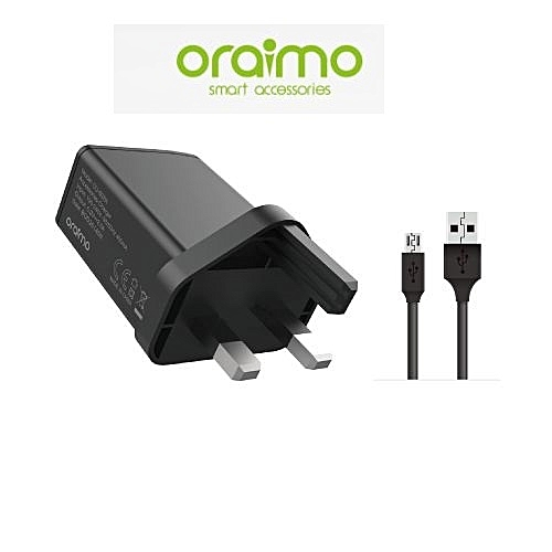2A FAST CHARGER KIT - (Charger + Cable) (1 Unit Per Customer)