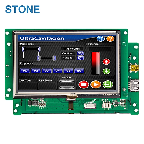 5.0 Inch Color TFT LCD Monitor With Touch Screen
