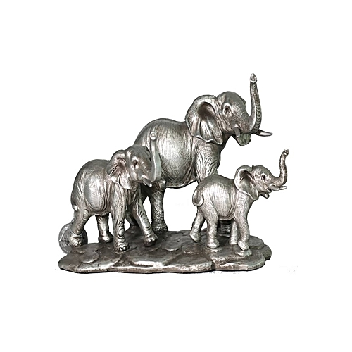 Elephant Family Reflections Silver