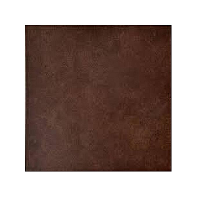 Generic Chocolate Brown Vinyl Plastic Rubber Floor Tiles For Home