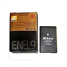 Nikon NIKON EN-EL9 BATTERY FOR D60, D40, D3000, D40x CAMERAS for sale  Nigeria