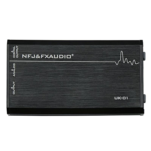 Fx Audio UK-01 External USB Sound Card Desktop Notebook Computer Universal Independent Portable Headphone Amp Output