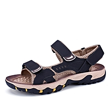 65bd46f28dd1 Men  039 s Sandals Summer High Quality Men Shoes Beach Men Sandals Super  Fiber