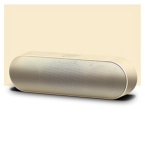 Pill Bluetooth MP3 Speaker With 3D Stereo Sound, Built-in Mic, FM Radio, Support TF Card And USB Input