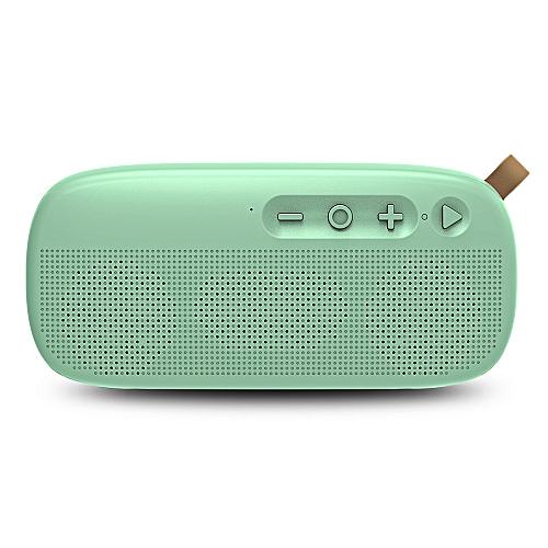 NewRixing NR - 4012 Waterproof Wireless Bluetooth Speaker Stereo Sound Player-AQUAMARINE