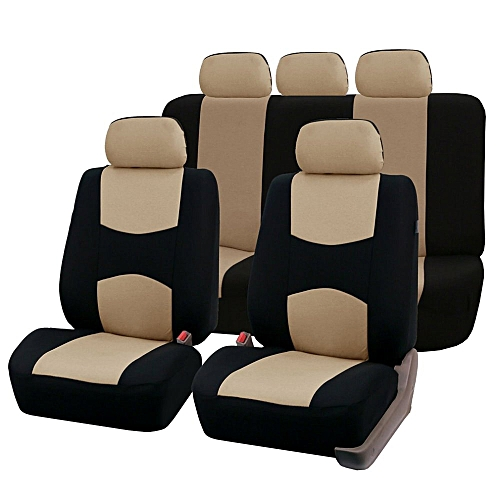 Front Rear Universal Car Seat Covers Auto Vehicles Accessories