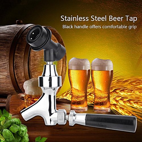 Stainless Steel Beer Tap Faucet With Ball Lock Liquid Disconnect Kit For Home