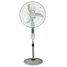 18 Inches Rechargeable Fan With LED Light With Remote