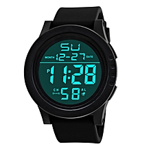 Relogio Masculino 2019 Fashion Military Sport LED Wristwatch Men Watch Complete Calendar Digital Men's Watches Clock White for sale  Nigeria