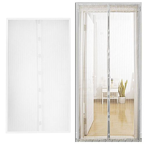 Anti Mosquito Net Curtain Magnetic Prevent Insect Door 120210cm Mesh Screen