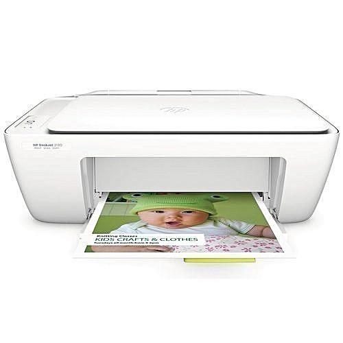 Printer HP DeskJet 2130 All-in-One + Free Surge Protector Adaptor