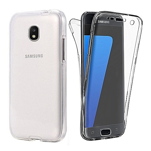 Generic Samsung Galaxy J7 2017 Case, AICEK Full Body 360 Degree Transparent Silicone Cover For Samsung J7 2017 J730 Bumper Covers Clear Case