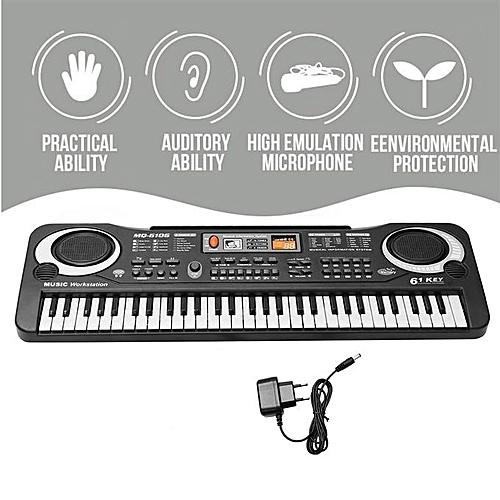 61 Keys Digital Music Electronic Key Board Child Piano Gift