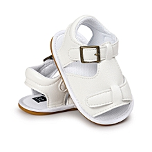 0110bccf5bba Baby Boys Sandals Shoe Casual Shoes Sneaker Anti-slip Soft Sole Toddler -  White