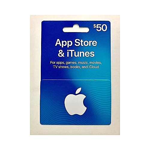 Apple App Store And ITunes Gift Cards $50