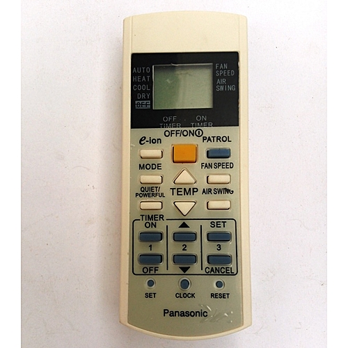 Replacement Panasonic AC Remote Control