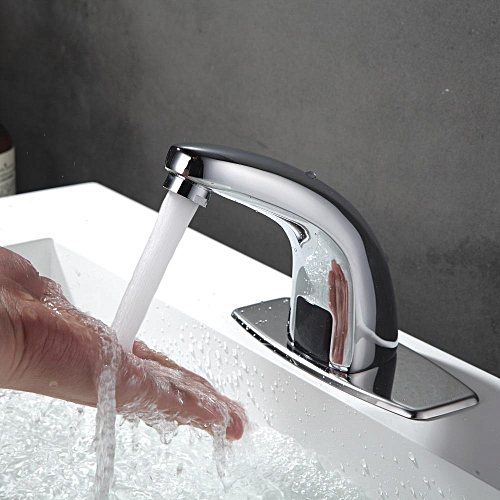 KCASA KC-TL2 Automatic Inflared Sensor Water Saving Electric Water Tap Mixer Touchles Coldwater