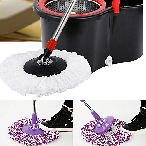 360 Rotating Head Easy Magic Microfiber Spinning Floor