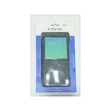 Zero 5 (X603 Smart Flip Case - Black. ) And Screen Protector