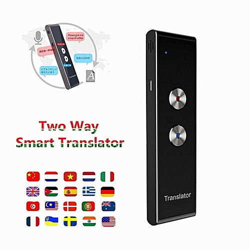Portable Smart Voice Translator Two Way Upgrade Version For Learning Travel Business Meeting 3 In 1 Voice Language Translator QLANG