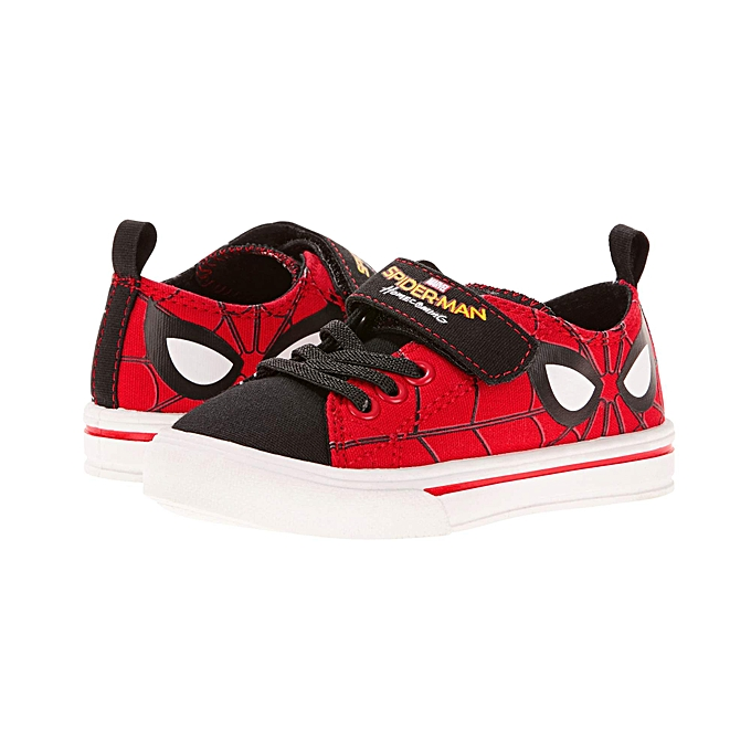 c68be74575a7 Marvel Spider-Man Boys Casual Canvas Shoes